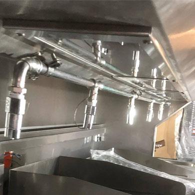 Ansul R102 Küchenlöschanlage für gewerbliche Küchen Hotelküche Systemgastronomie Industrieküche mit finanzierung