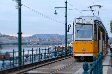 Die gelben Straßenbahnen hab ich gejagt wie sonst die Möwen... :)