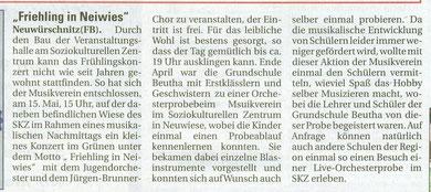 Wochenspiegel 05.05.