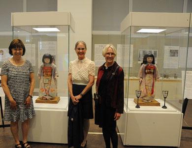 ドロシーさん(中央)、ダイアンさん(左)、ジュディさん(右)