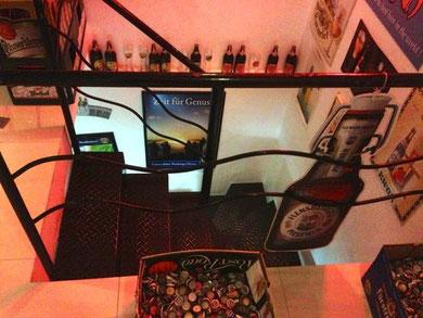 Hier gibt es fast alle Biersorten: Bar Empório Icarai in Niteroi