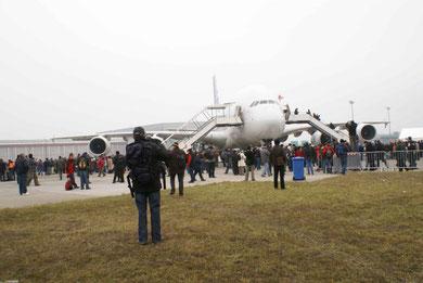 A380 in Kloten