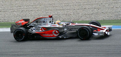 Lewis Hamilton Sieger von Deutschland 2008
