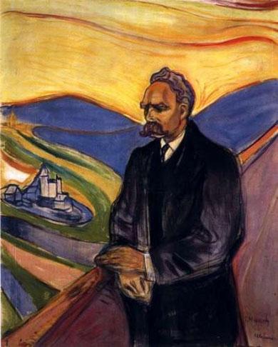 Ritratto realizzato da Munch