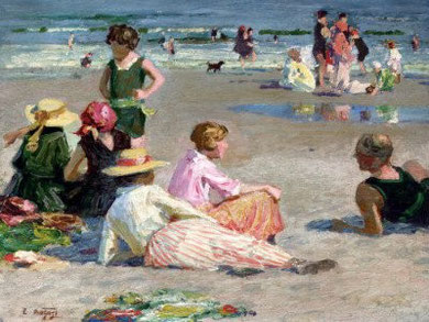 EDWARD HENRY POTTHAST - Manhattan Beach