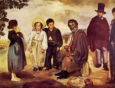 EDOUARD MANET - Il vecchio musicista