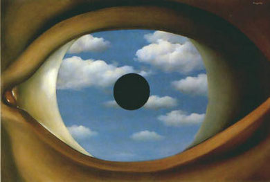 RENE' MAGRITTE - Falso specchio