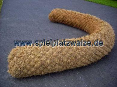 Spielplatzwalze für Sandkastenumrandungen