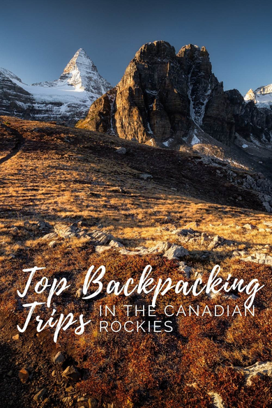 Information about the best multi-day hikes and trips in the Canadian Rockies. Including Mount Assiniboine, The Berg Lake Trail, The Rockwall Trail, The Skyline Trail, The Tonquin Valley, Maligne Lake & Spirit Island and Lake O'Hara.