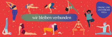 Bild: Online Yoga und Meditation im Livestream
