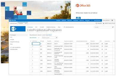 Sofort nutzbare Schnittstelle zur Integration von SharePoint® Listen