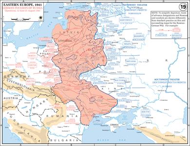 Die Wehrmacht überrollt die Rote Armee
