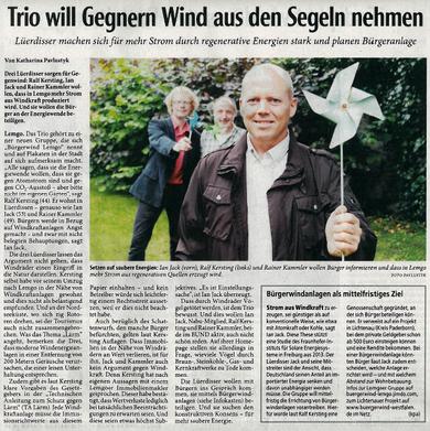 Quelle: Lippische Landeszeitung www.lz.de; Alle Rechte vorbehalten!