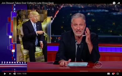 Jon Stewart über Donald Trump