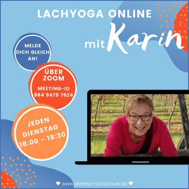 Lachyoga online