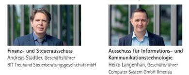 Heiko Langenhan wird im Ausschuss Informations- und Kommunikationstechnologie mitarbeiten, Adreas Städtler im Ausschuss Finanzen und Steuern.