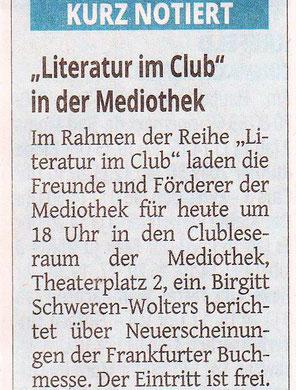 Westdeutsche Zeitung, 15.November 2017