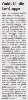 Westdeutsche Zeitung, 24.04.2017