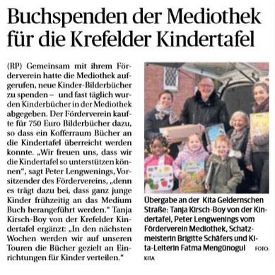Rheinische Post, 13. Dezember 2018