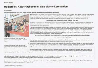 Westdeutsche Zeitung, 15. Dezember 2015