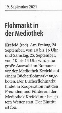 Extra Tipp Krefeld, 19. September 2021