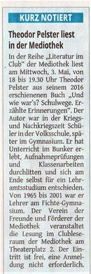 Westdeutsche Zeitung, 28.04.2017