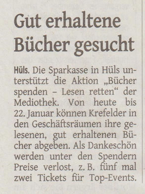 Westdeutsche Zeitung, 18. Januar 2016