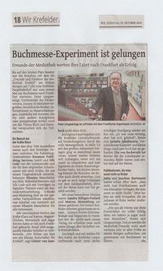 Westdeutsche Zeitung, 20. Oktober 2015