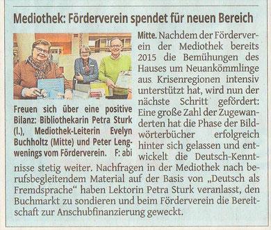 Westdeutsche Zeitung, 24. Januar 2018