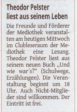 Westdeutsche Zeitung, 03. Mai 2017