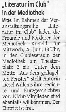 Westdeutsche Zeitung, 20. Juni 2019