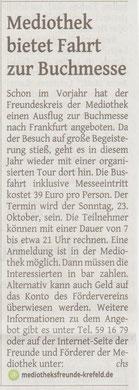 Westdeutsche Zeitung, 13. Juni 2016