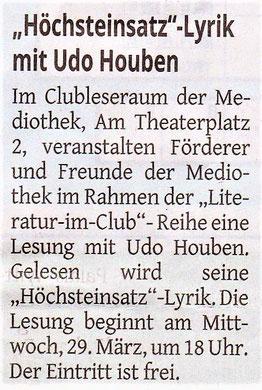 Westdeutsche Zeitung, 24. März 2017