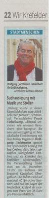 Westdeutsche Zeitung, 11. November 2015