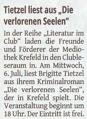 Westdeutsche Zeitung, 04.07.2016