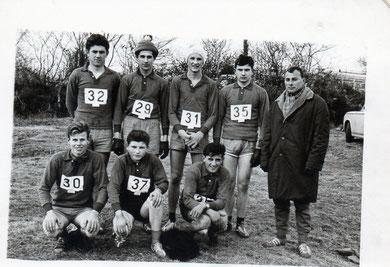 Cadets Cross 2ème Champ.France 1963