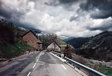 Sur la route de Sainte-anne d'Entrevaux