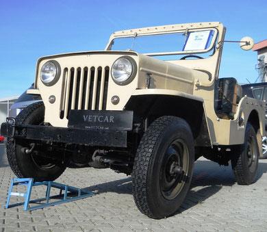 Jeep Willy´s Overland mit Oldtimer  H-Zulassung EZ 1963