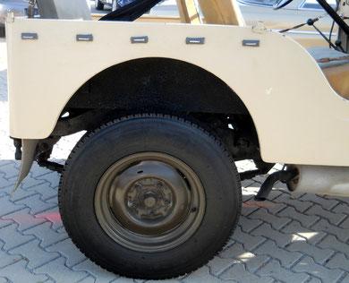 Jeep Willy´s Overland  EZ 1963 mit Oldtimer H-Zulassung