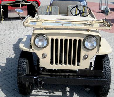 Jeep Willy´s Overland  ....Vollcabrio...mehr weniger geht nicht...