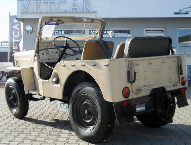 Jeep Willy´s Overland  mit Oldtimer H-Zulassung und AHK