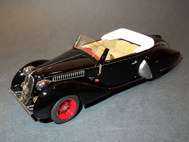 Alfa Romeo 6C 2300B Cabriolet Worblaufen 1938