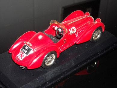 Alfa Romeo 8C2900B MM. Clemente Biondetti/Aldo Stefani 1938