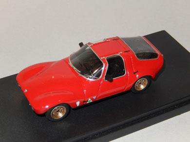 Alfa Romeo Giulia 1600 Prototipo Vico 1965