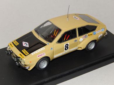 Alfa Romeo Alfetta GT gr.2 Rally 4 Regioni 1975