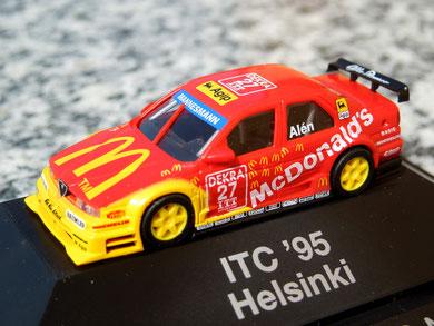 "Alfa Romeo 155 V6 TI "" Alén ""McDonald´s_Helsinki  ITC'95"