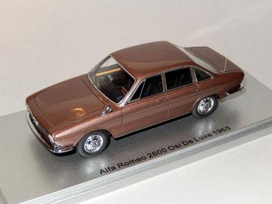 Alfa Romeo 2600 OSI DE LUXE 1965
