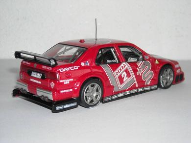 Alfa Romeo 155 V6 TI DTM Team AlfaCorse/Alessandro Nannini 1994