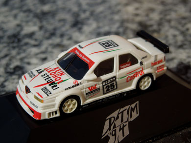 "Alfa Romeo 155 V6 TI ""Engstler""Kein Alkohol am Steuer! Herpa Team"