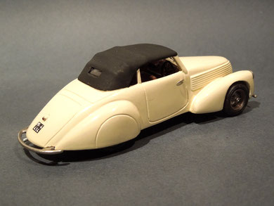 Alfa Romeo 6C 2300 Pescara Castagna 1935